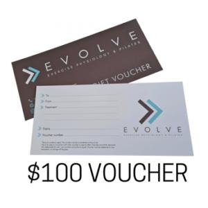 Evolve 100 voucher