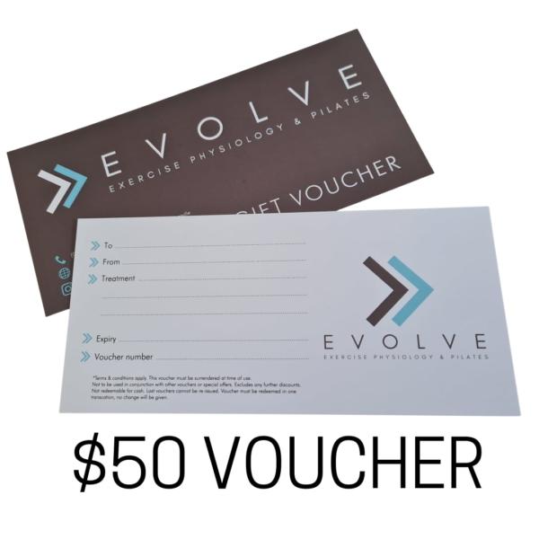 Evolve 50-VOUCHER